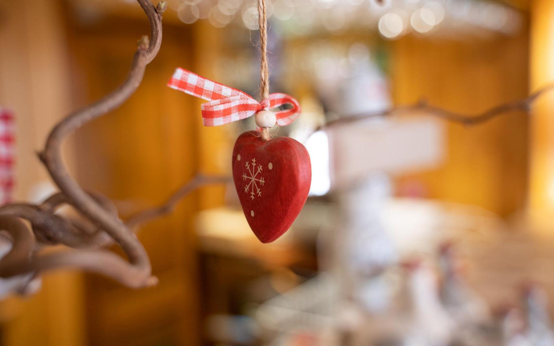 Un coeur pour les produits locaux cuisinés dans le winstub de Munster